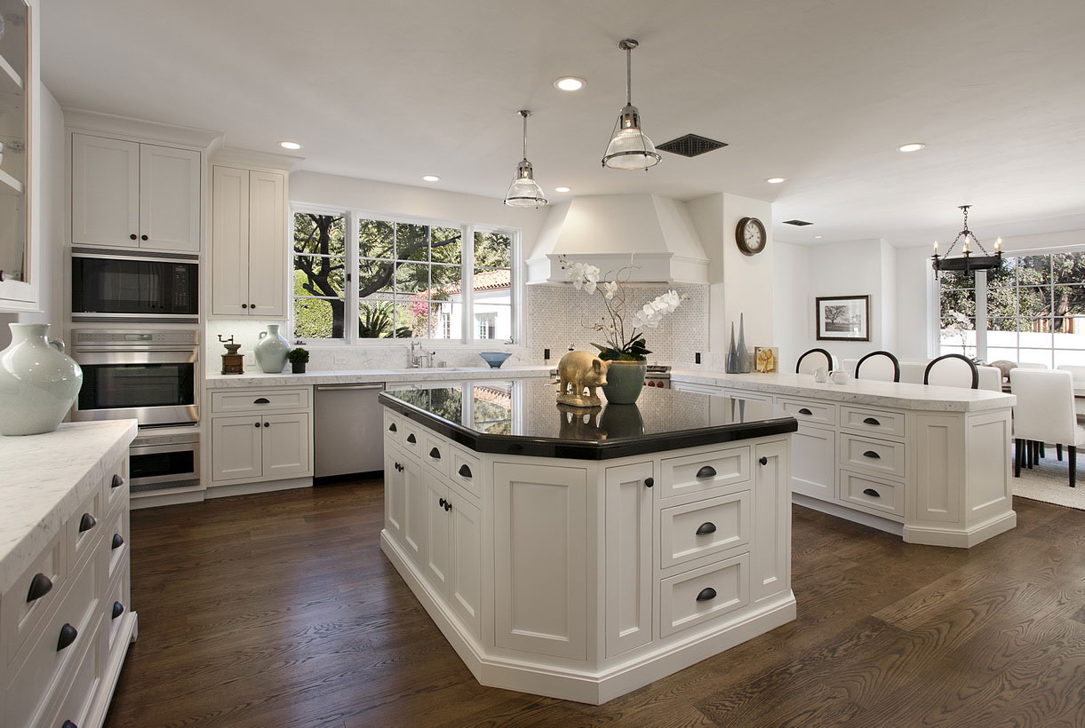 Model Kitchens Pictures 4 Most Beautiful White Kitchens 1221 X 820